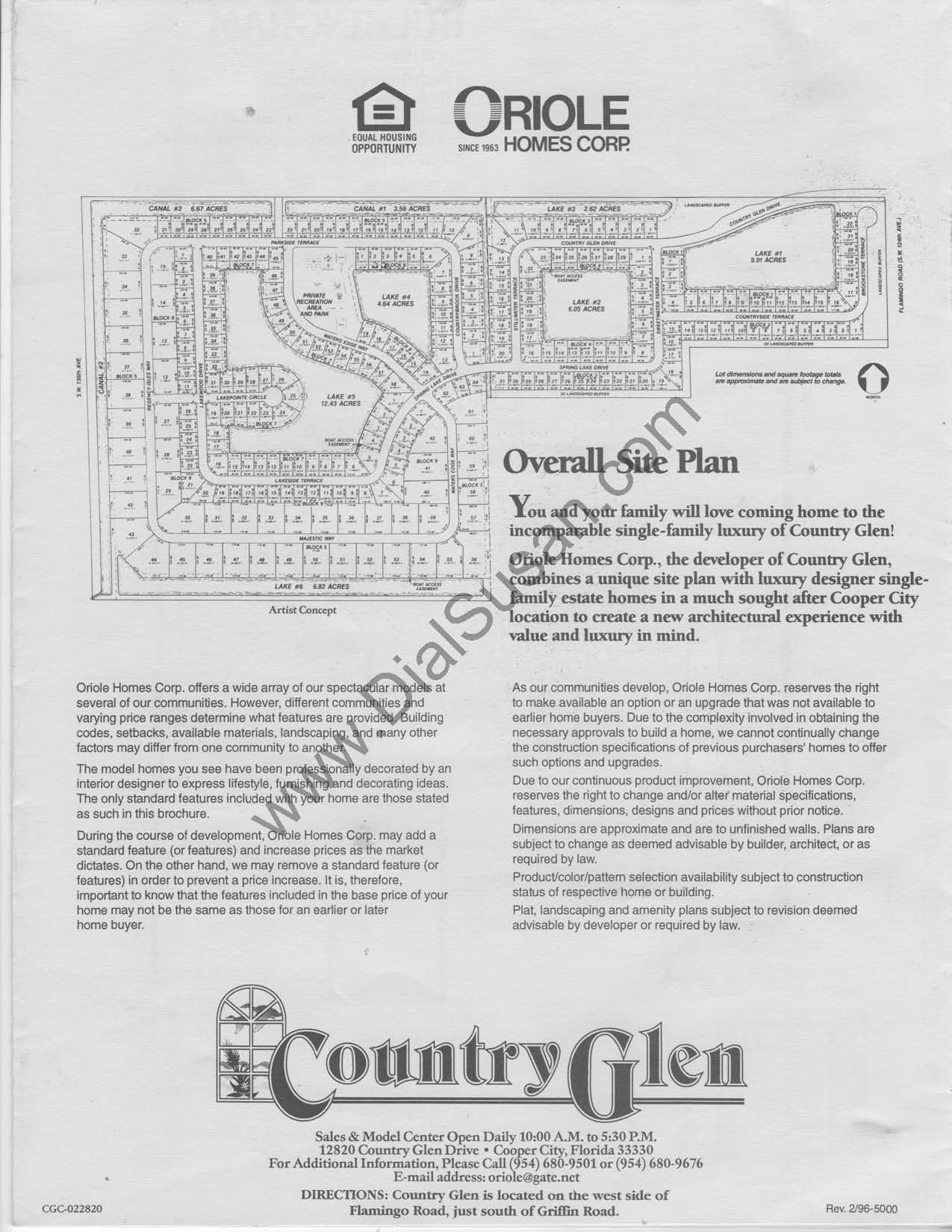 Country Glen - Floor plans and Community Profile - Homes for Sale in ...