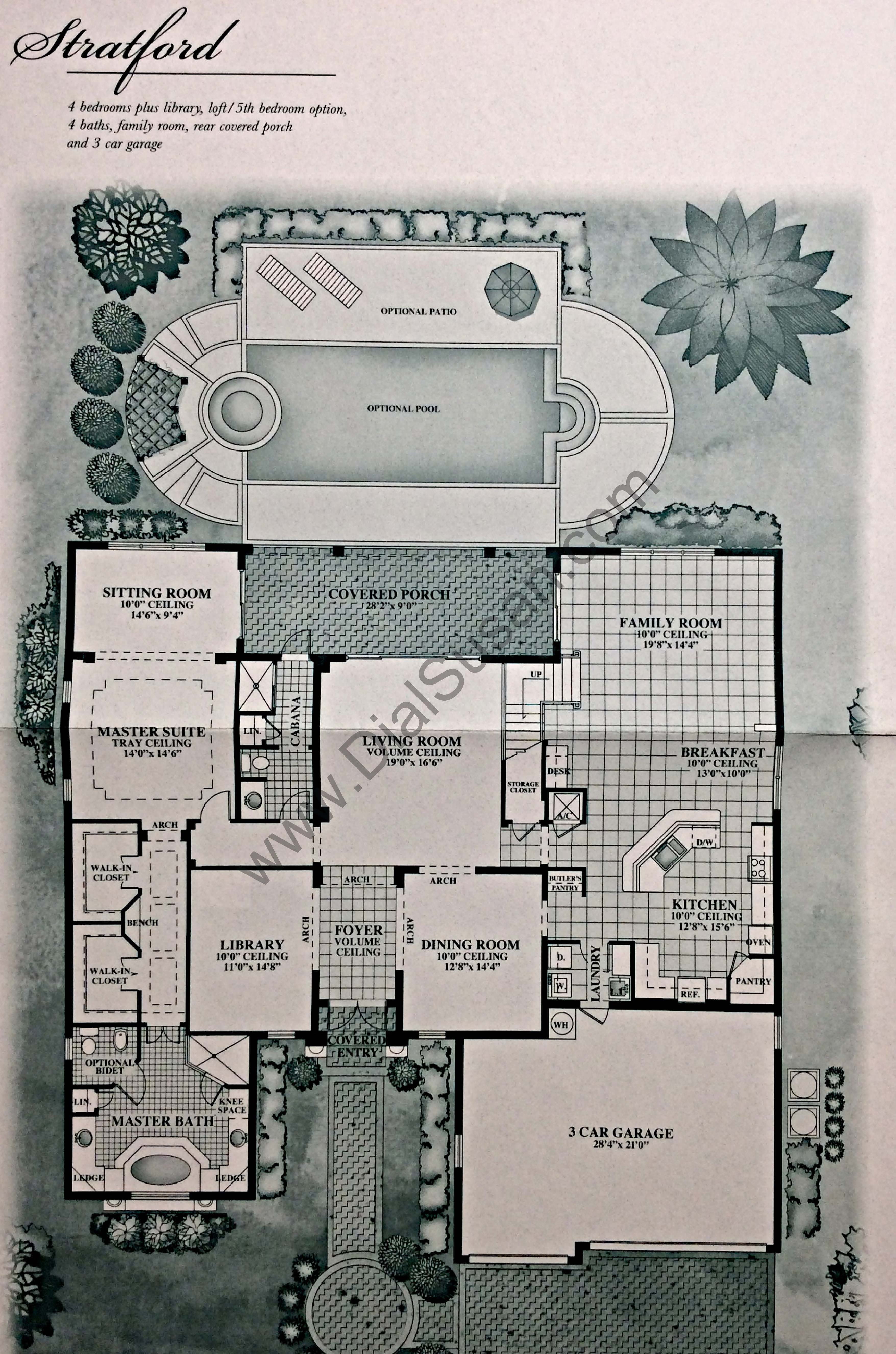 country glen floor plans and community profile homes for sale the stratford 1st floor