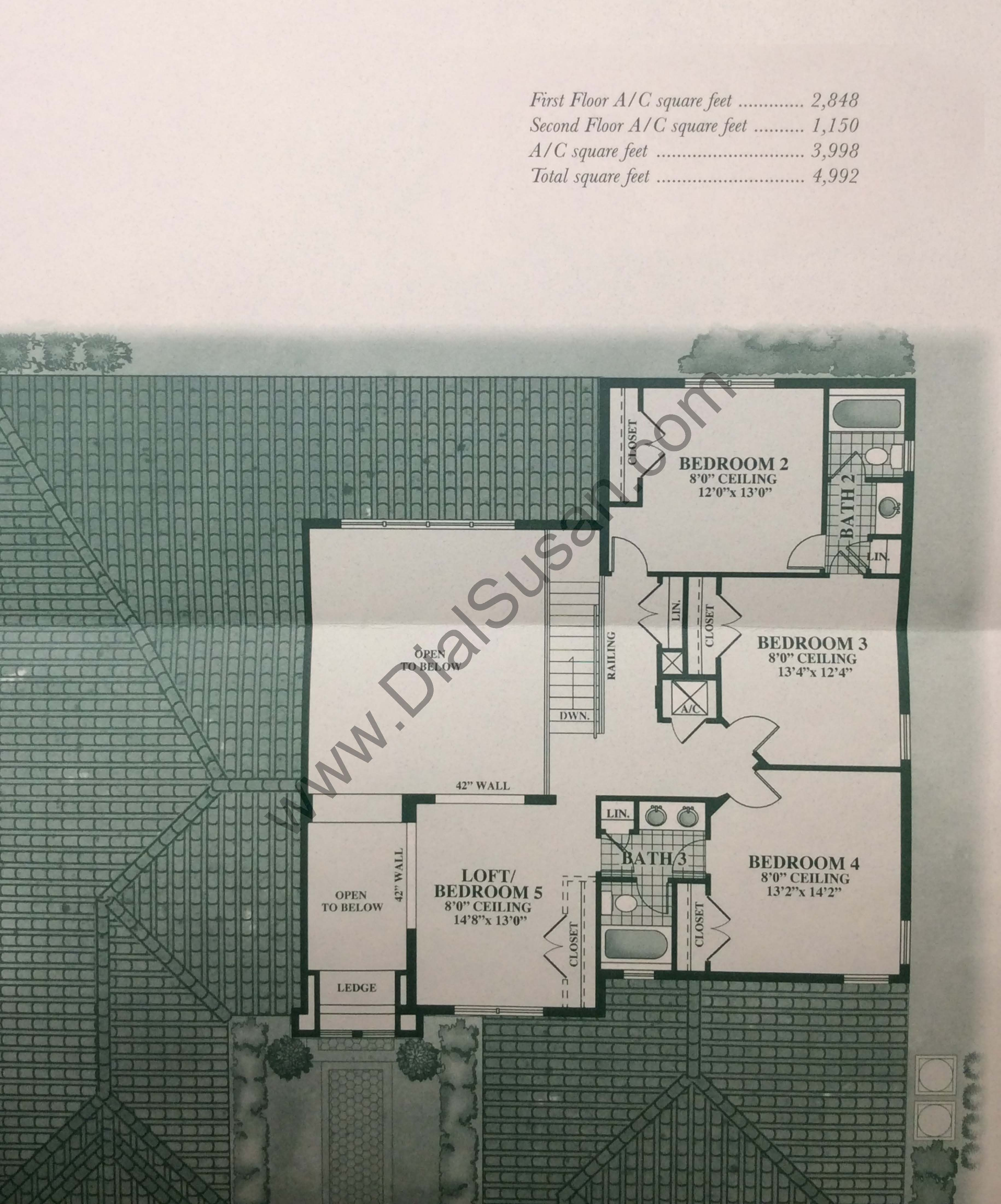 country glen floor plans and community profile homes for sale the stratford 2nd floor