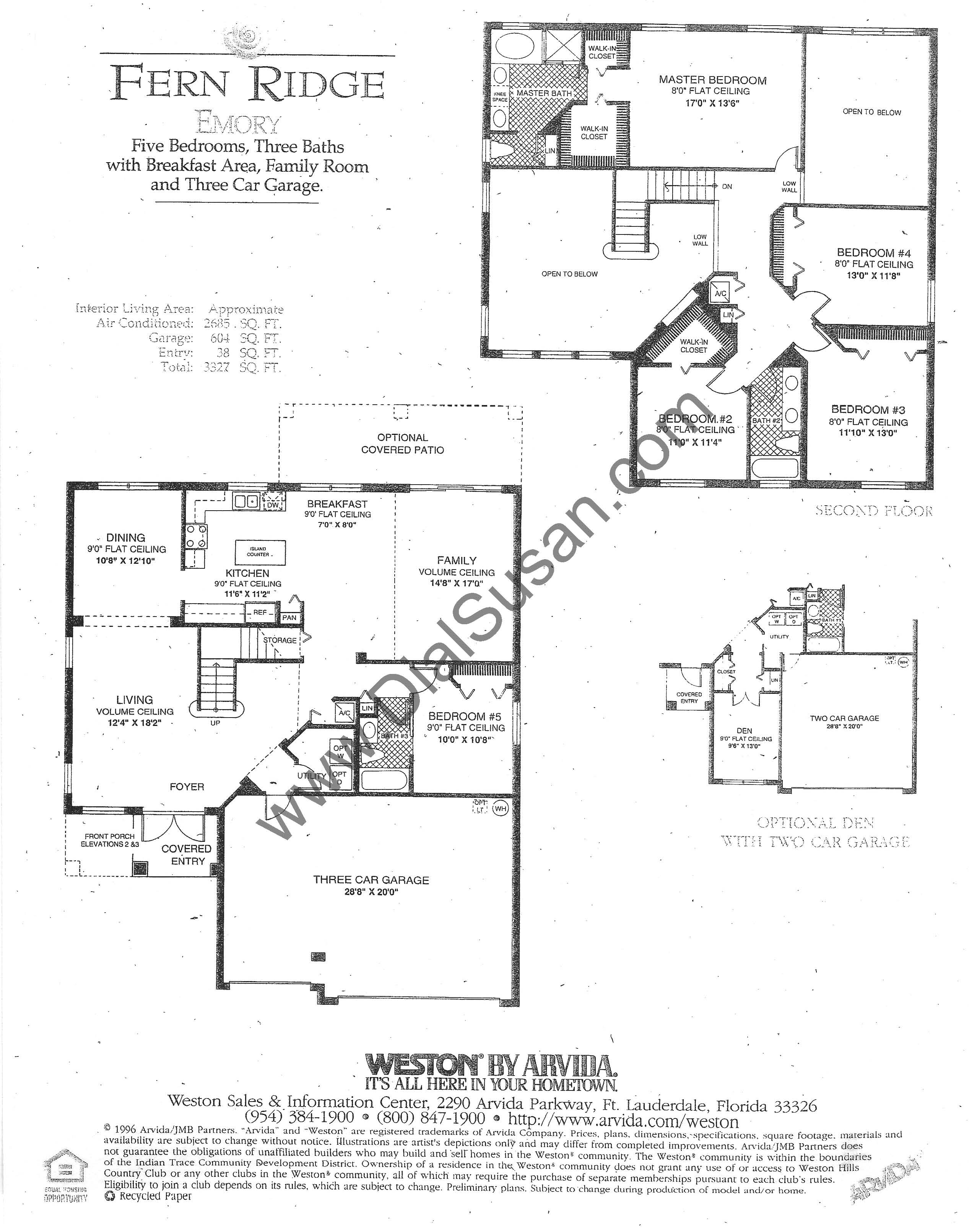 Fern Ridge 05 Emory susan hesselman realtor in the ridges,Arvida Homes Floor Plans