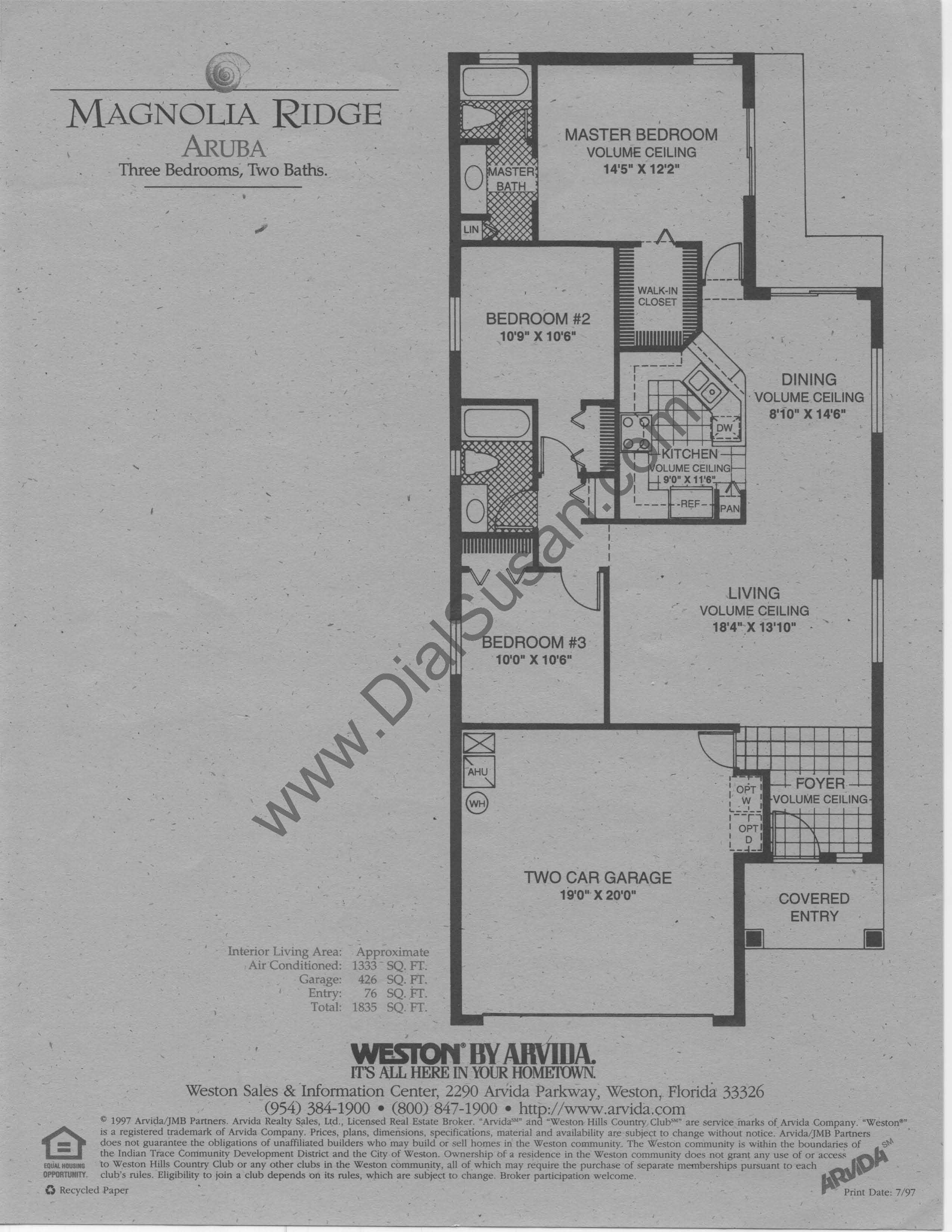 Magnolia Ridge 01 Aruba susan hesselman realtor in the ridges,Arvida Homes Floor Plans